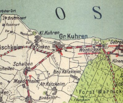 Pharus_Gross_Kuhren_Map