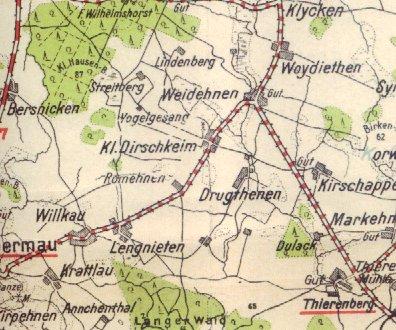 Pharus_Klein_Dirschkeim_Map
