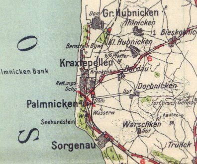 Pharus_Palmnicken_Map