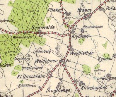 Pharus_Weidehnen_Map